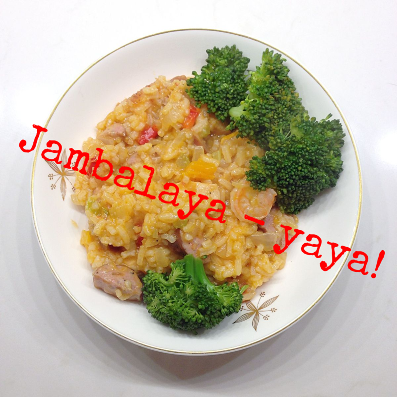 Easy Jambalaya recipes - one regular, one SCD-legal with cauliflower rice.  Yum!