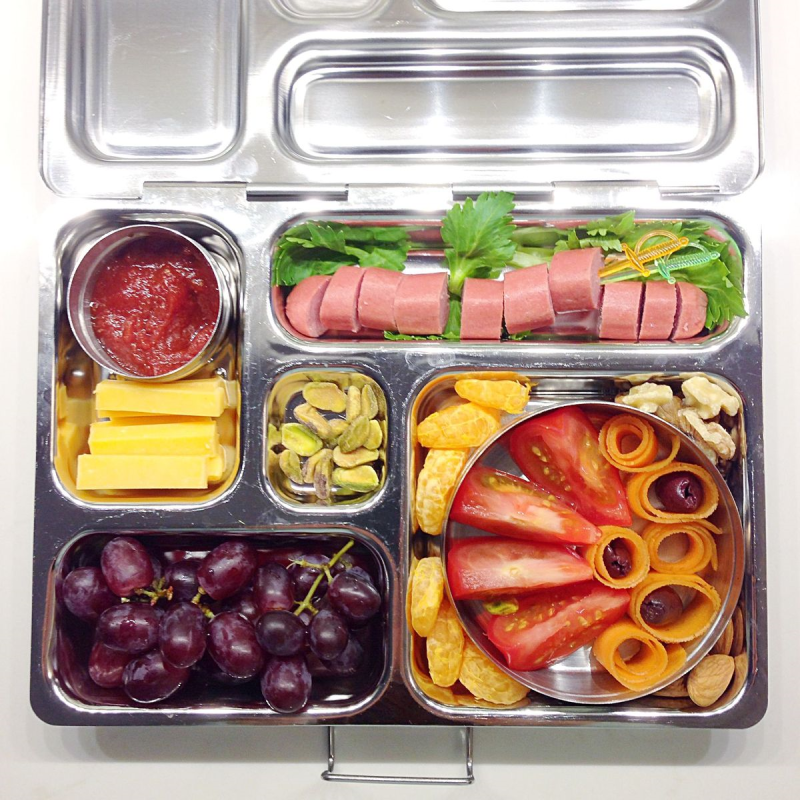 Yummy bento lunch chock full of SCD/Paleo finger foods...fun to look at, easy to eat.