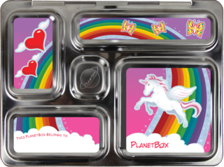 Planetbox unicorn magnets - woot!