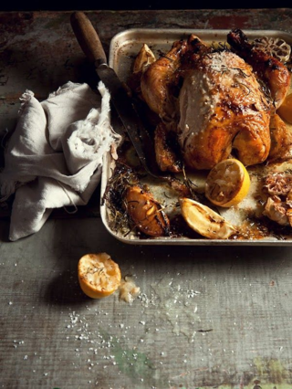 Roast Chicken with Lemon and Rosemary...SCD for Rosh Hashana