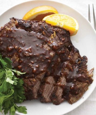 Honey Garlic Brisket - SCD for Rosh Hashana
