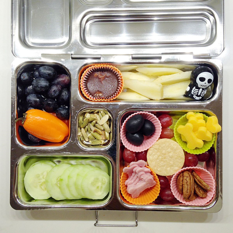 Planetbox Halloween Lunch - SCD, Paleo-friendly