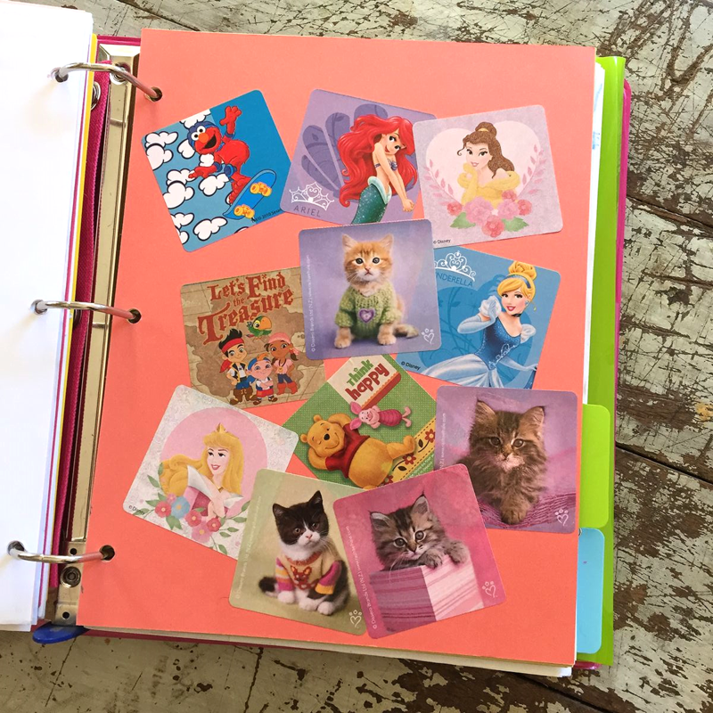 How to make an IBD scrapbook to help kids cope with IBD.