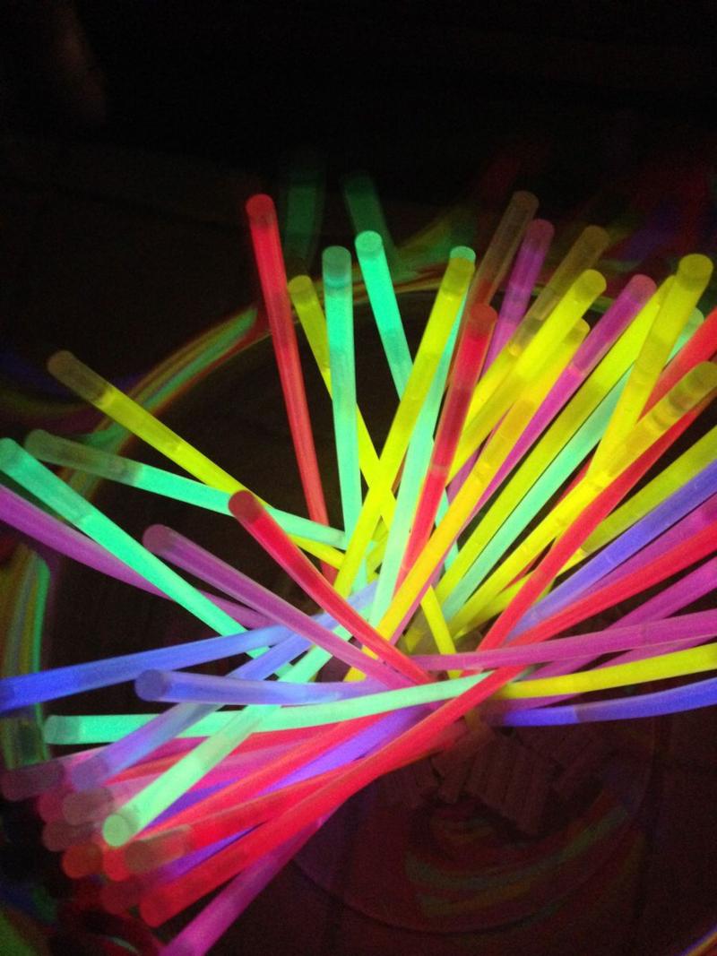 Glo Sticks for Halloween