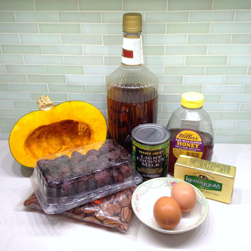 Ingredients for SCD Kabocha Casserole
